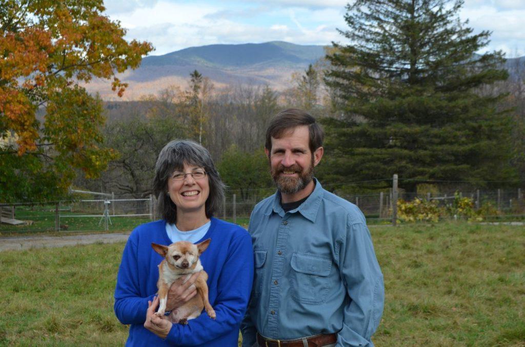 Steve and Alayne with Wilbur for blog 4