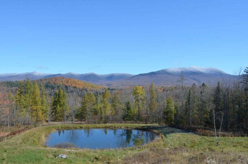 Mountains with snow Oct 19